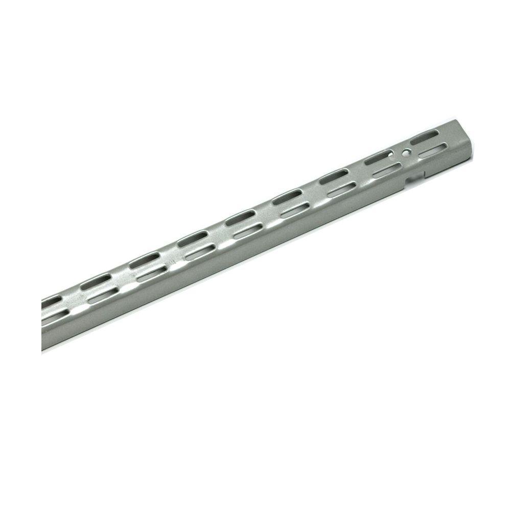 ClosetMaid ShelfTrack 84 In Nickel Standard 32812