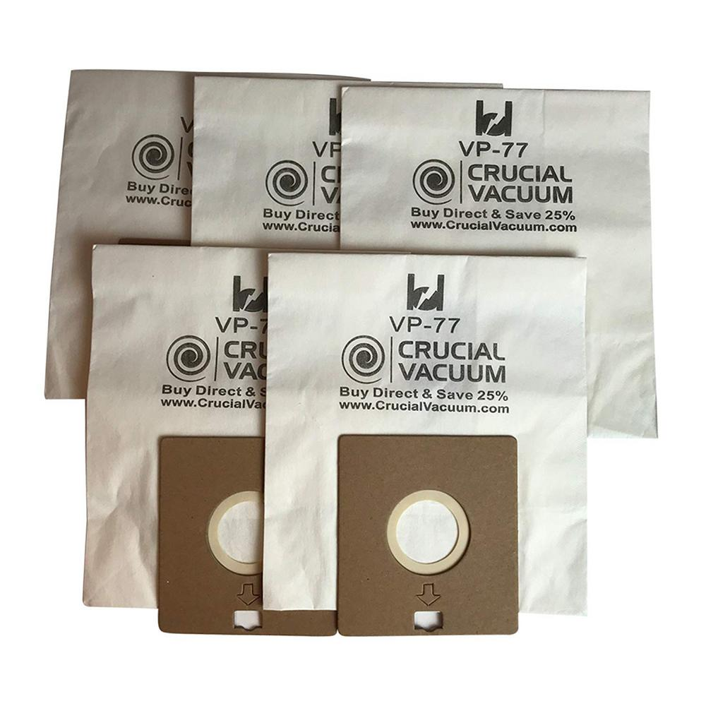 Think Crucial Vp 77 Vacuum Bags Replacement For Bissell Digipro Part 203 2026 32023 And 32115 5 Pack 203 2026 The Home Depot