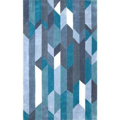 Almeta Blue 5 ft. x 8 ft. Area Rug