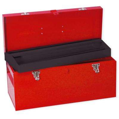 Heavy Duty Metal Tool Box - 20 in. X 8 in. X 9 in.