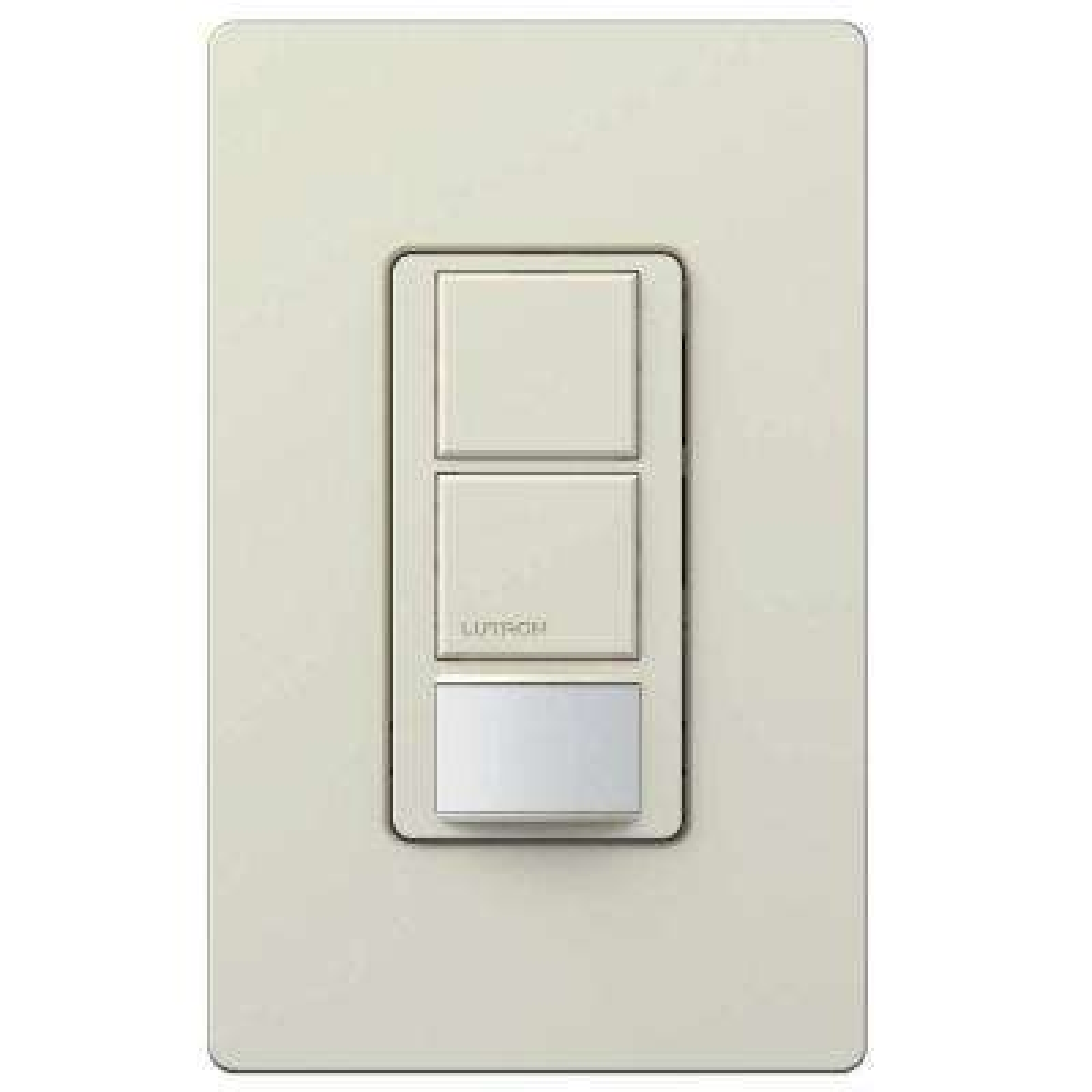 Maestro Dual Circuit Motion Sensor switch, 6-Amp, Single-Pole, Light Almond