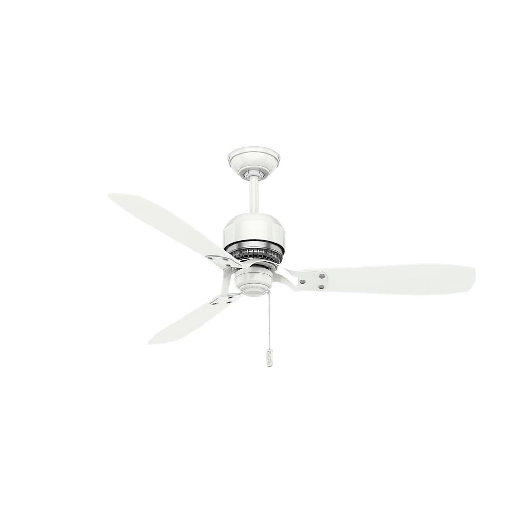 Casablanca Tribeca 52 In Indoor Snow White Ceiling Fan 59500 The Wiring Diagram