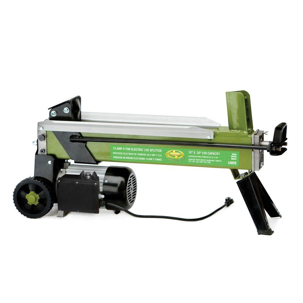 Sun Joe Logger Joe 5-Ton 15 Amp Electric Log Splitter