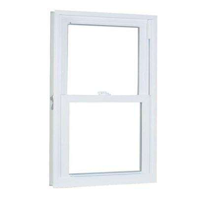 35.75 in. x 53.25 in. 70 Series Pro Double Hung White Vinyl Window with Buck Frame