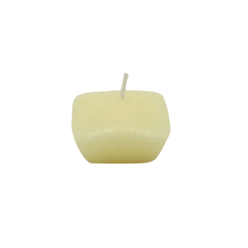 1.75 in. Ivory Square Floating Candles (12-Box)