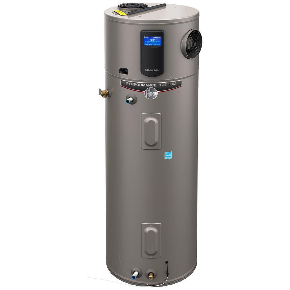rheem xe80t10hd50u0. rheem performance platinum 80 gal. tall 12 year hybrid electric water heater with heat pump technology-xe80t12eh45u0 - the home depot xe80t10hd50u0