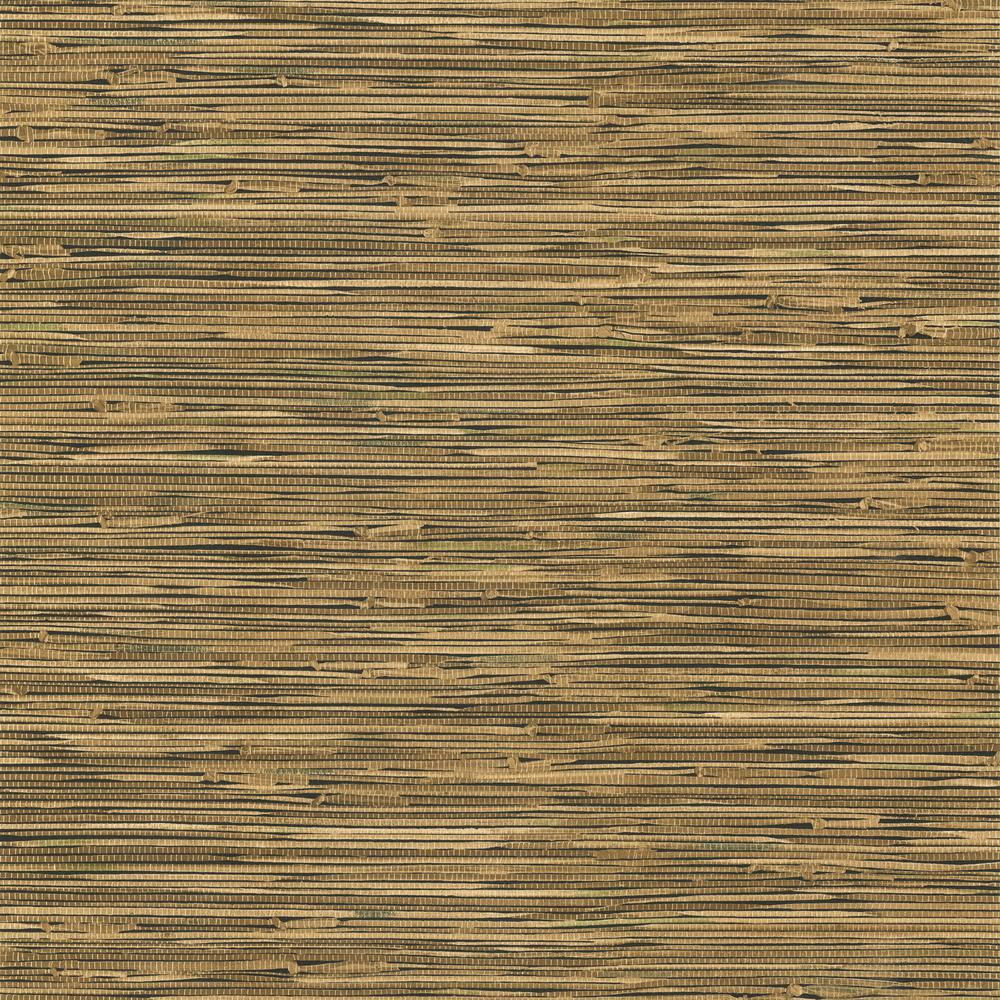 York Wallcoverings Grasscloth Wallpaper-TB1965 - The Home ...