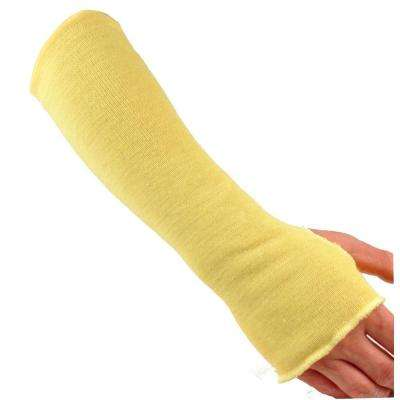 Kevlar 18 in. Knit Sleeve with Thumb Slot in Yellow