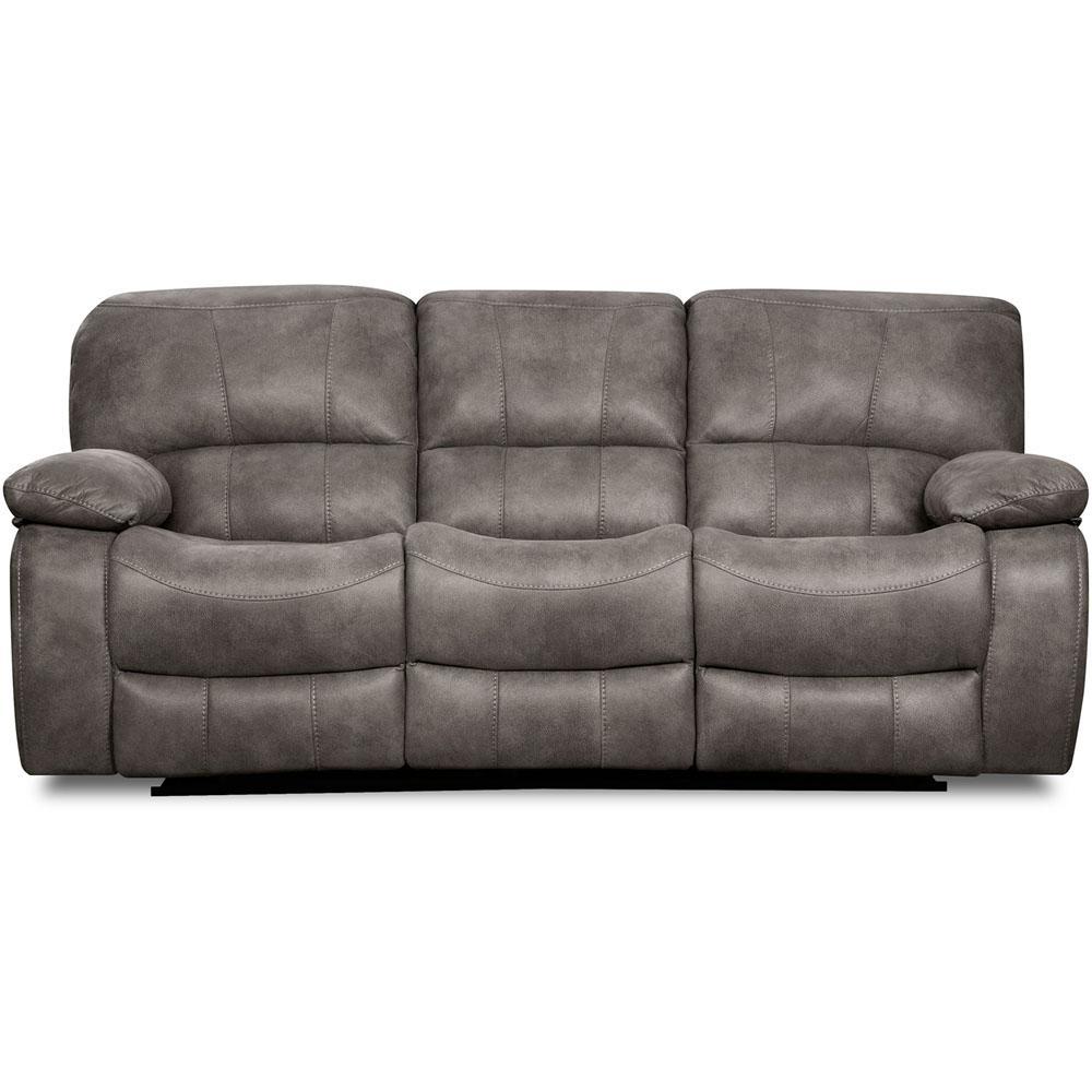 Garrison Charcoal Double Reclining Sofa