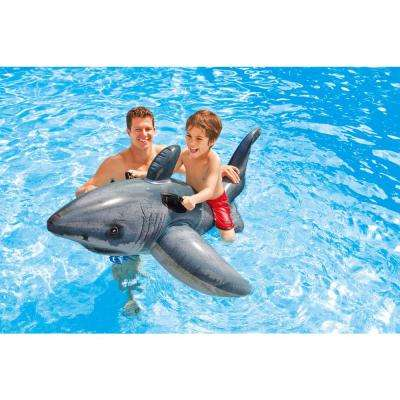 Great Shark Ride-On Pool Inflatable
