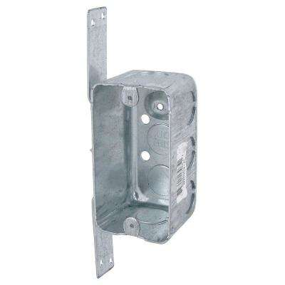 1-Gang Electrical Utility Box with CV Bracker (Case of 12)