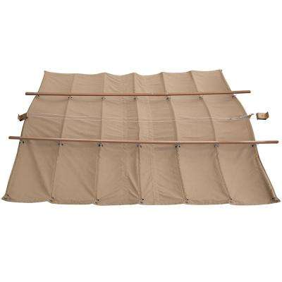 12 ft. x 12 ft. Retractable Sunshade