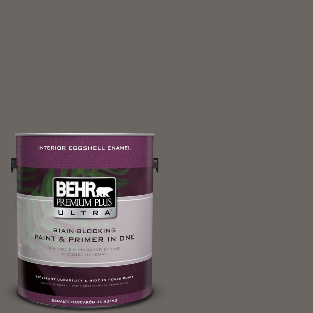 BEHR Premium Plus Ultra 1-gal. #790F-6 Trail Print Eggshell Enamel Interior Paint