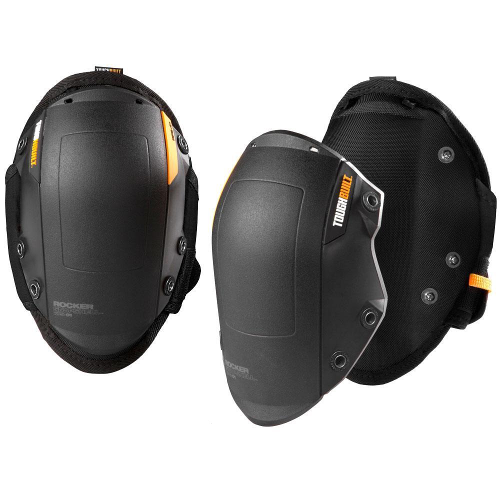 GelFit Black Rocker Knee Pads