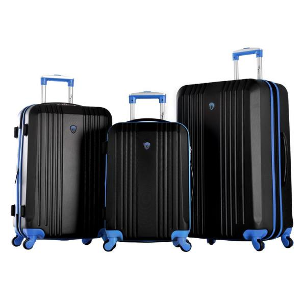 0c0e182d03a9 Olympia USA Apache II 3-Piece Expandable Spinner Luggage Set HF-1900 ...