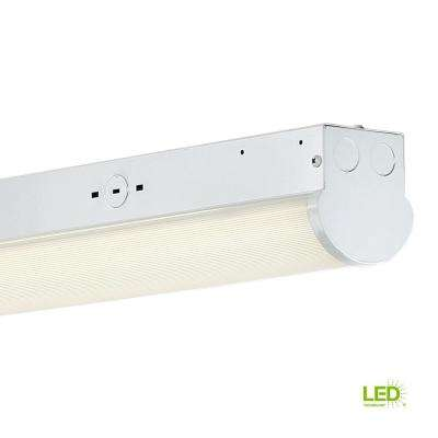 97-Watt 8 ft. White Integrated LED MV 10000 Lumen Surface Mount Strip Light