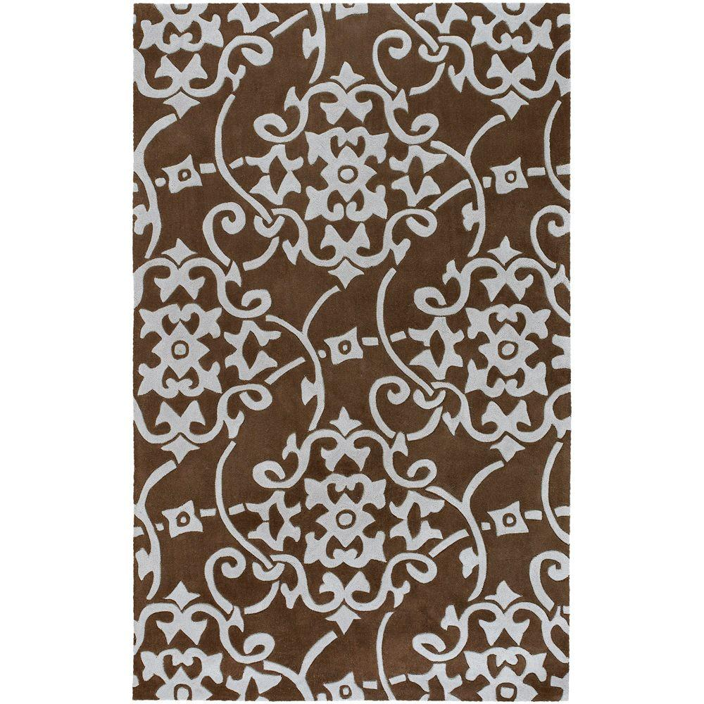 Meredith Pale Blue 5 ft. x 8 ft. Area Rug
