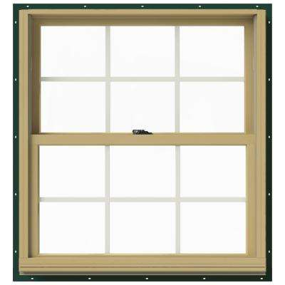 33.375 in. x 36 in. W-2500 Double-Hung Aluminum Clad Wood Window