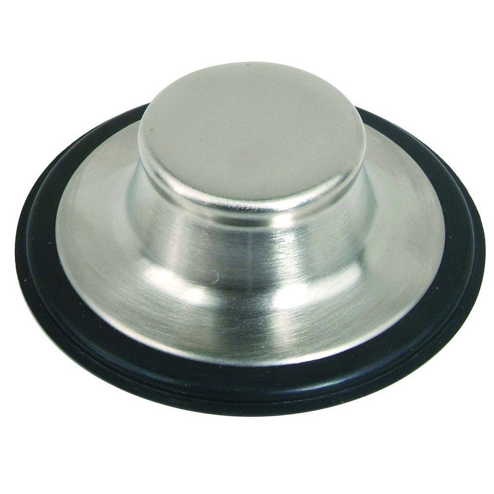 Dish Towel Stuck In Garbage Disposal: Delta 4-1/2 In. Kitchen Sink Disposal And Flange Stopper
