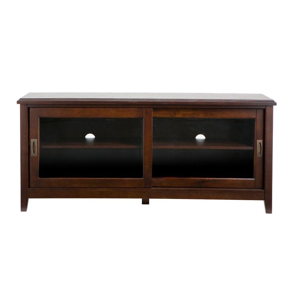 Home Decorators Collection Essex Espresso Media Stand
