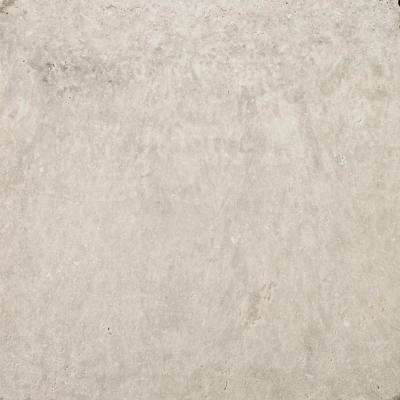 Trav Ancient Tumbled Silver 12.01 in. x 12.01 in. Travertine Floor and Wall Tile