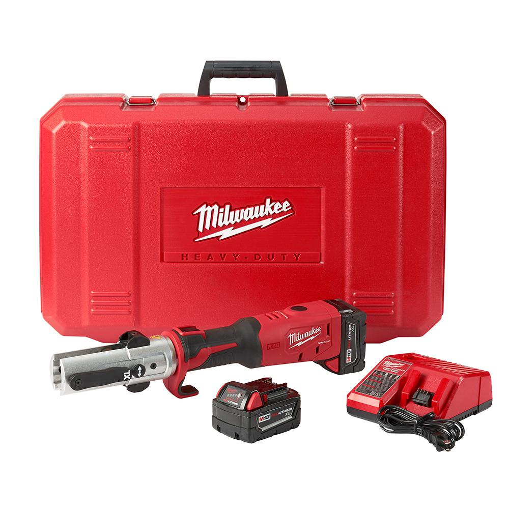 M18 18-Volt Lithium-Ion Cordless FORCE LOGIC Long Throw Press Tool Kit