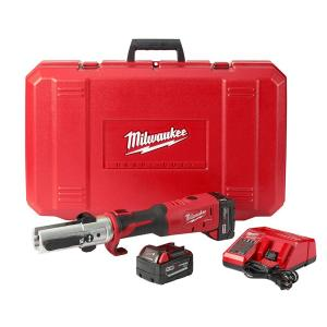 Milwaukee M18 18-Volt Lithium-Ion Cordless FORCE LOGIC Long Throw Press Tool Kit... by Milwaukee