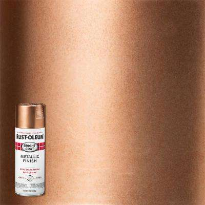 11 oz. Bright Coat Rose Gold Spray Paint (6-Pack)
