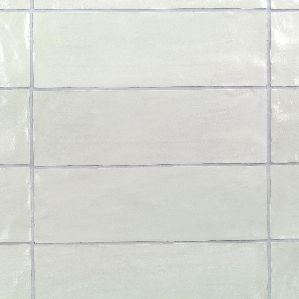 Amagansett Blue 2 in. x 8 in. 9mm Satin Ceramic Wall Tile (10.76 sq. ft. / box)