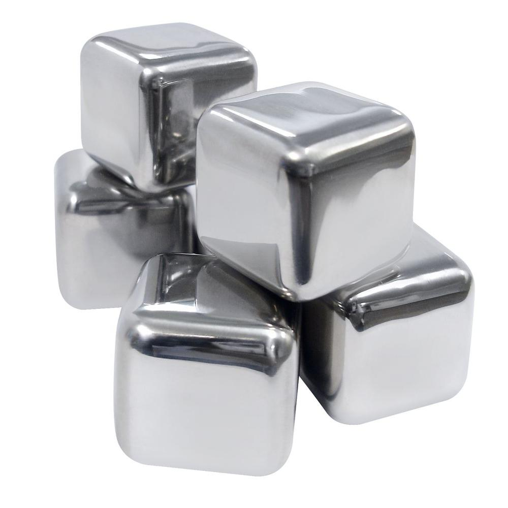 Vinotemp Stainless Ice Cubes (Set of 6)