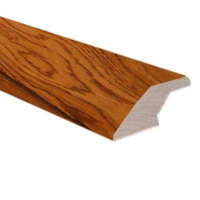 Oak Gunstock 3/4 in. Thick x 2-1/4 in. Wide x 78 in. Length Hardwood Lipover Reducer Molding