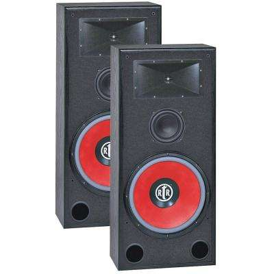 Eviction Series 15 in. 430-Watt 3-Way Bi Ampable Floor Speaker