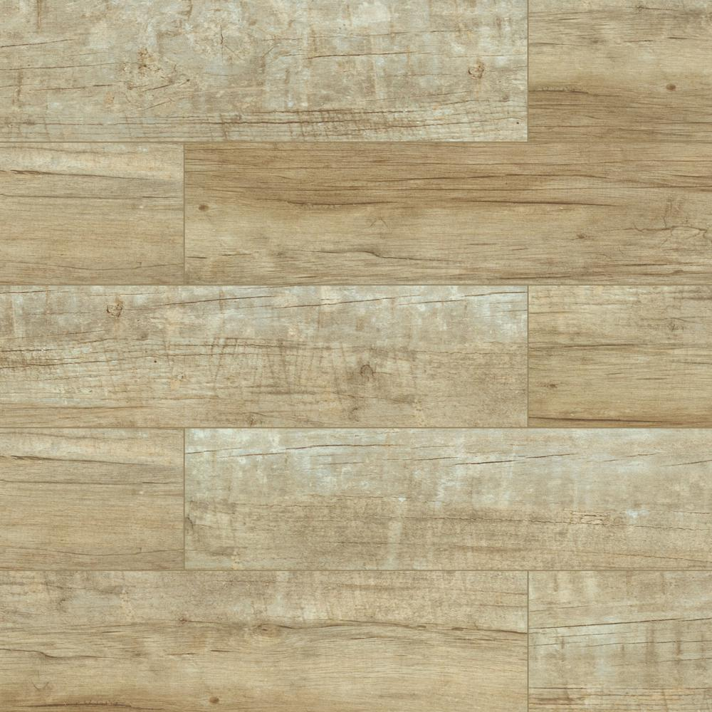 TrafficMaster Capel Timber 20 in. x 20 in. Matte Ceramic Floor and Wall Tile  (20 sq. ft. / case)