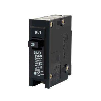 BR 20 Amp Single Pole Circuit Breaker