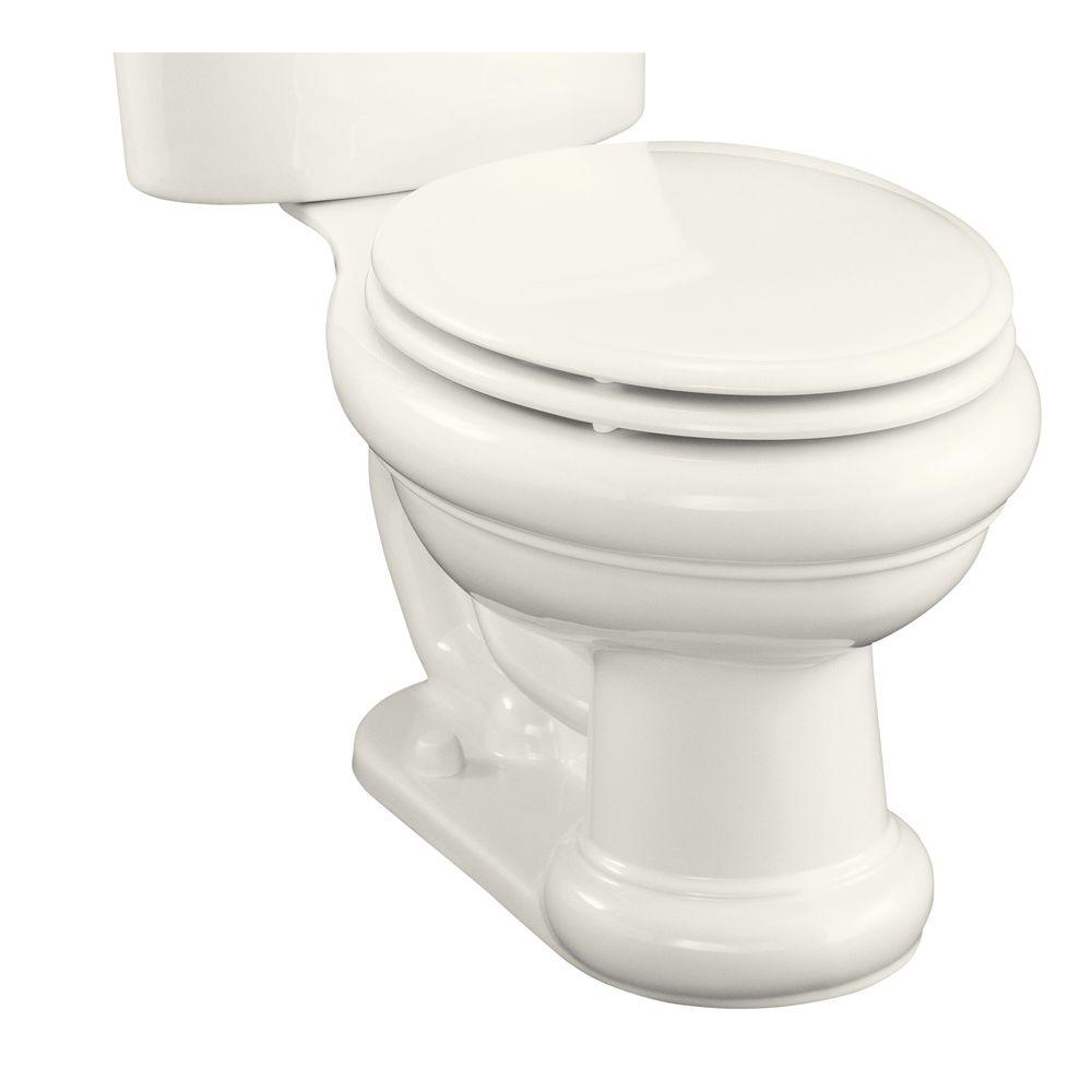 KOHLER Revival Elongated Toilet Bowl Only in Biscuit-DISCONTINUED
