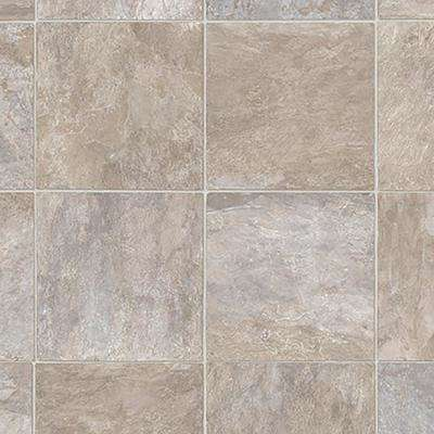 Wheaton Tile 13.2 ft. Wide x Your Choice Length Residential Sheet Vinyl Flooring