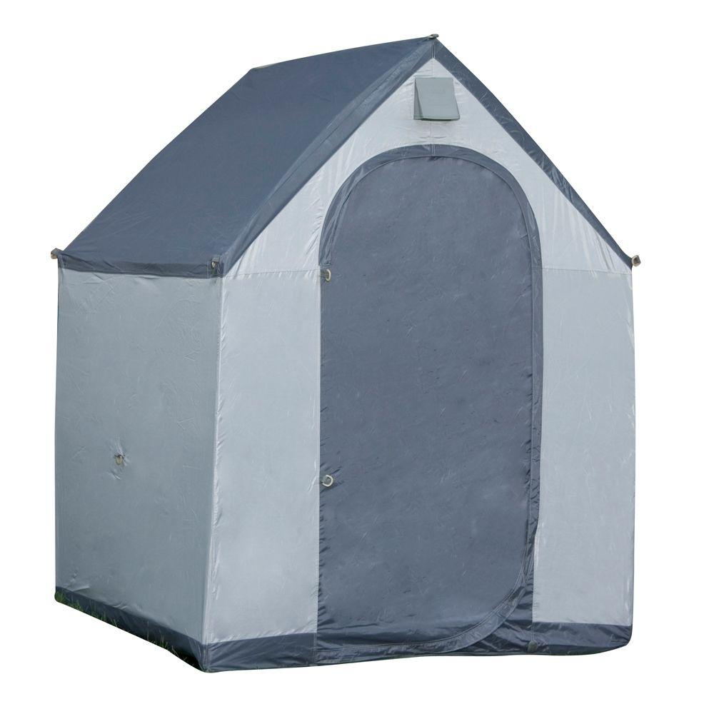 6 ft. x 6 ft. Polyester Portable Storage House xL Shed, G...