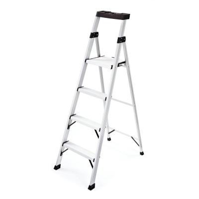 Rubbermaid 2 Step Aluminum Step Stool With 225 Lb Load Capacity