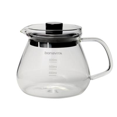2.5-Cup Glass Coffee Carafe with Removable Lid