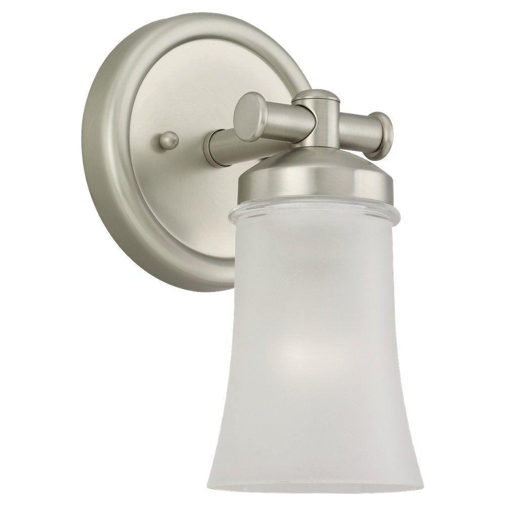 Sea Gull Lighting Newport 1-Light Antique Brushed Nickel Sconce