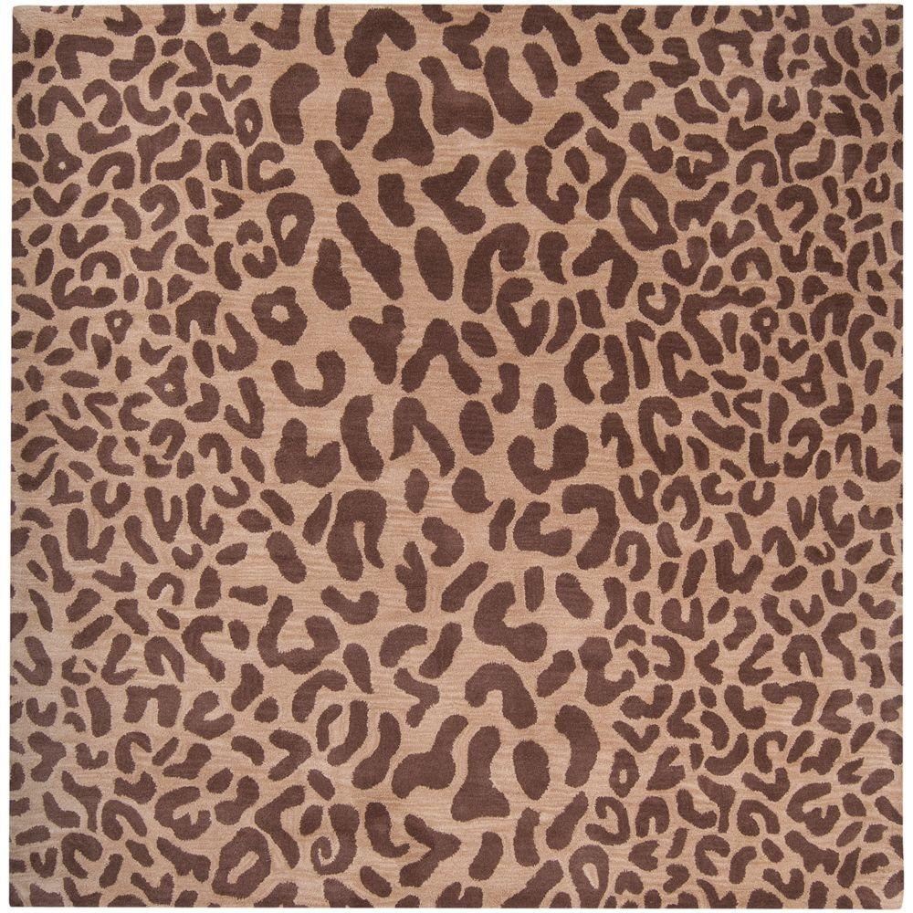 Artistic Weavers Sarah Tan 9 ft. 9 in. x 9 ft. 9 in. Square Area Rug