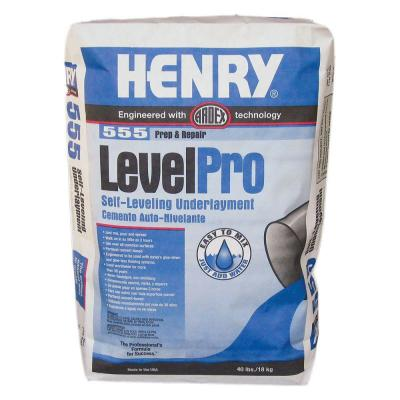 555 Level Pro 40 lb. Self-Leveling Underlayment