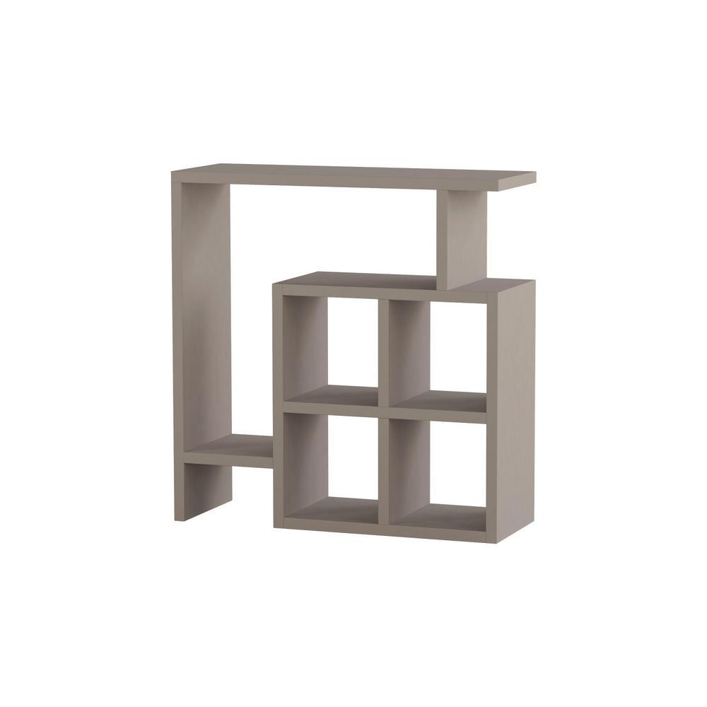 Ada Home Decor Smith Light Mocha Modern Side Table DCRS2023