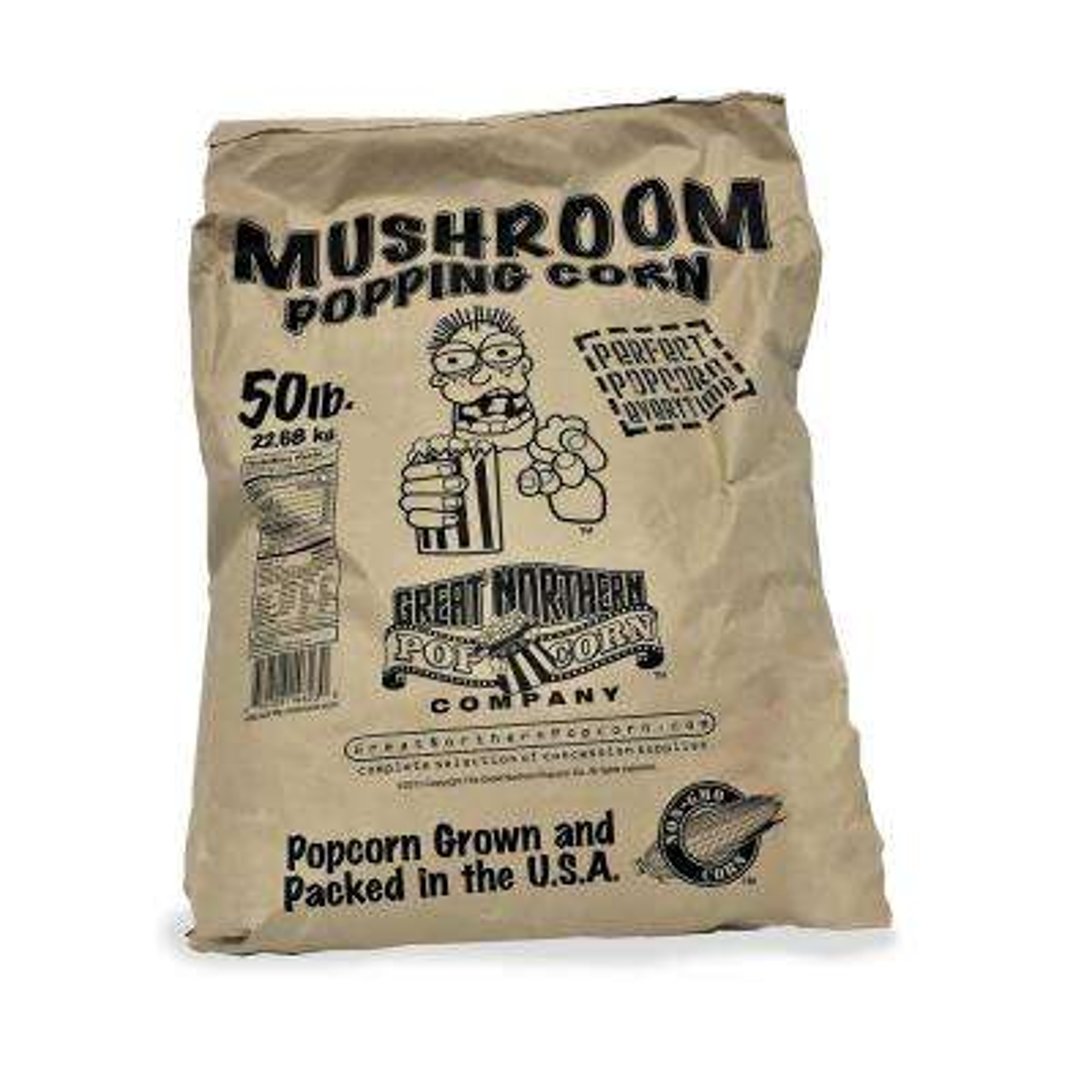 800 oz. Gourmet Mushroom Popcorn Bulk Bag