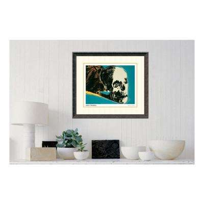 "25 in. H x 28 in. W ""Skull, 1976"" by "" Andy Warhol"" Framed Print Wall Art"