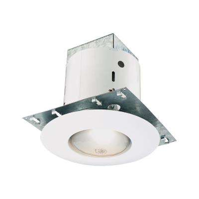 Thomas Pro Series 5 in. White Recessed Kit