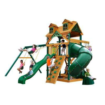 Malibu Extreme Swing Set with Timber Shield