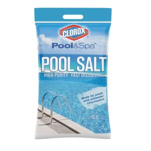 Clorox Pool And Spa 40 Lbs Pool Salt 40b Clxpool The Home Depot