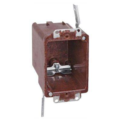 1-Gang Old Work Bracketed Outlet Box (Case of 50)