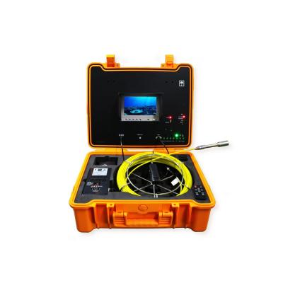 Portable 130 ft. Color LED Sewer/Drain/Pipe Inspection Camera w/Built in 512HZ Sonde Transmitter
